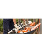 Stihl battery powered garden tools