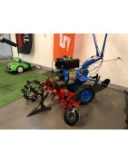 Accesories for petrol and diesel powered tillers