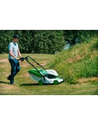 Professional lawn mowers from Etesia